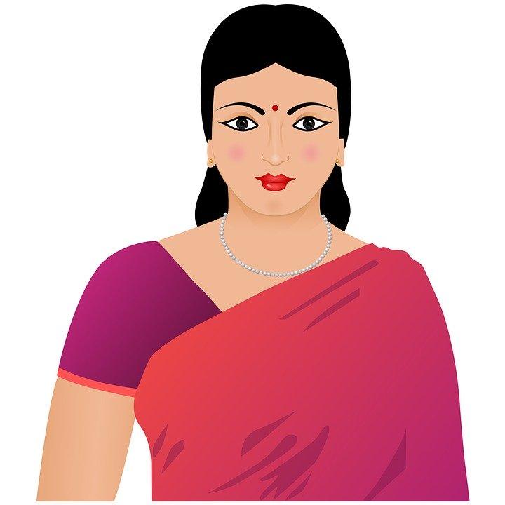 Indian Woman, Woman, Girl, Indian, Female, Portrait