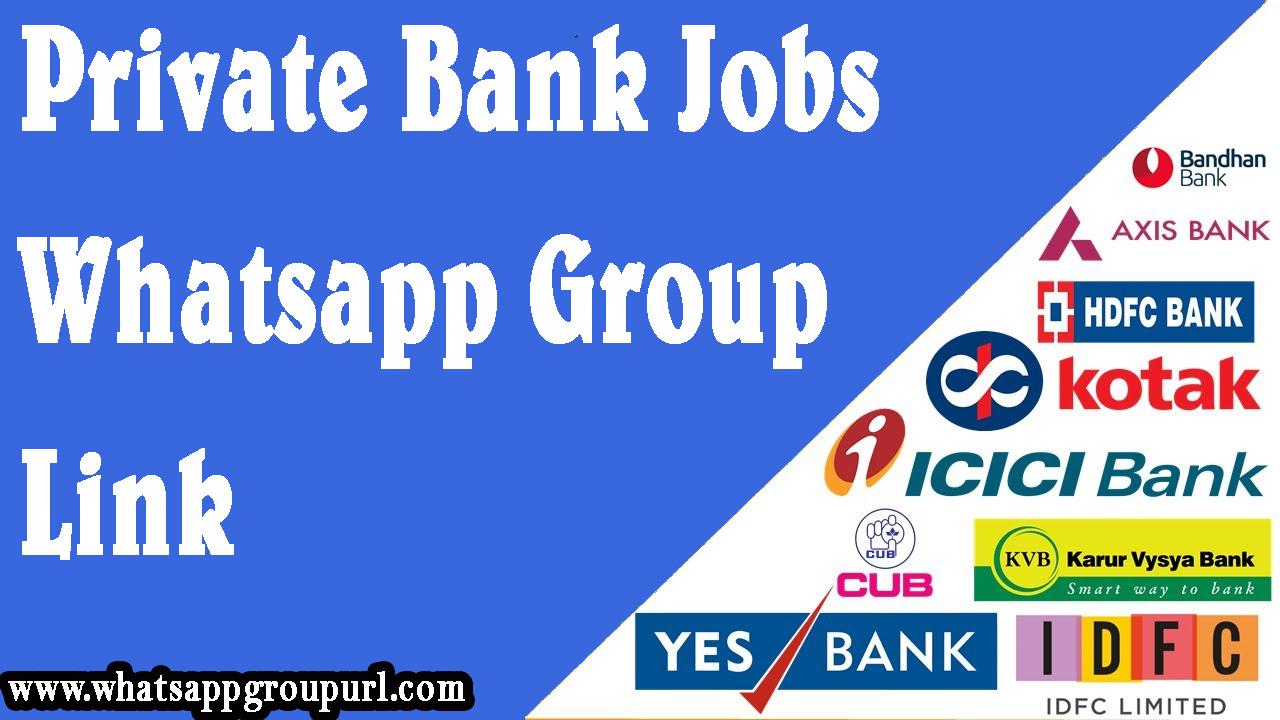 Banking Whatsapp Group Links