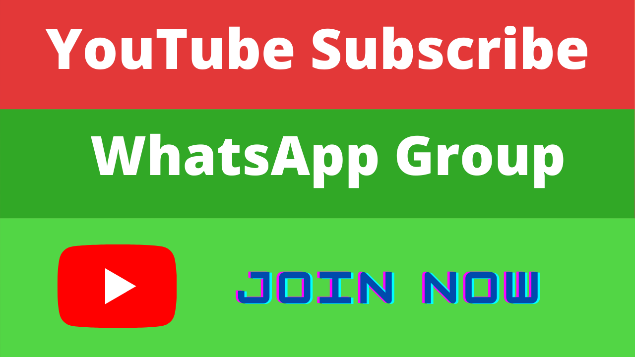 Youtube Subscriber Whatsapp Group Links