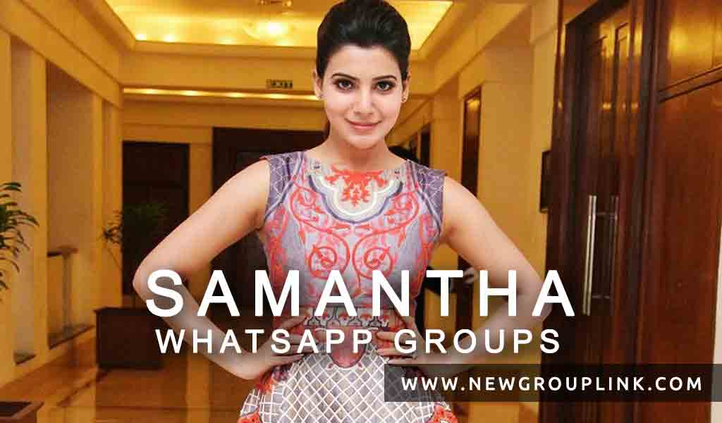 Samantha Fans Whatsapp Group Links