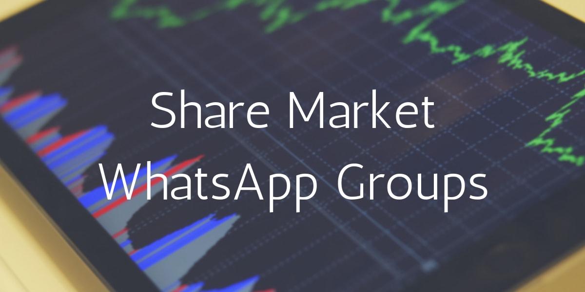 Share Market Whatsapp Group Links