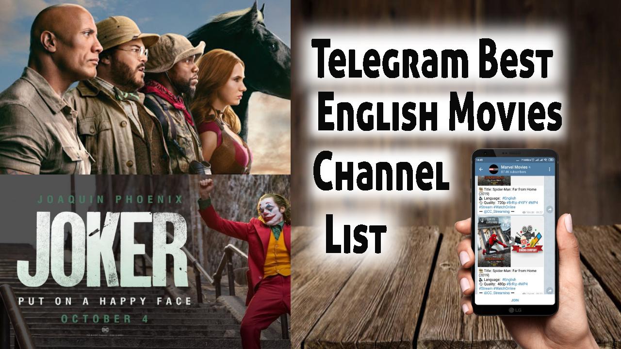English Movie Telegram Group Link